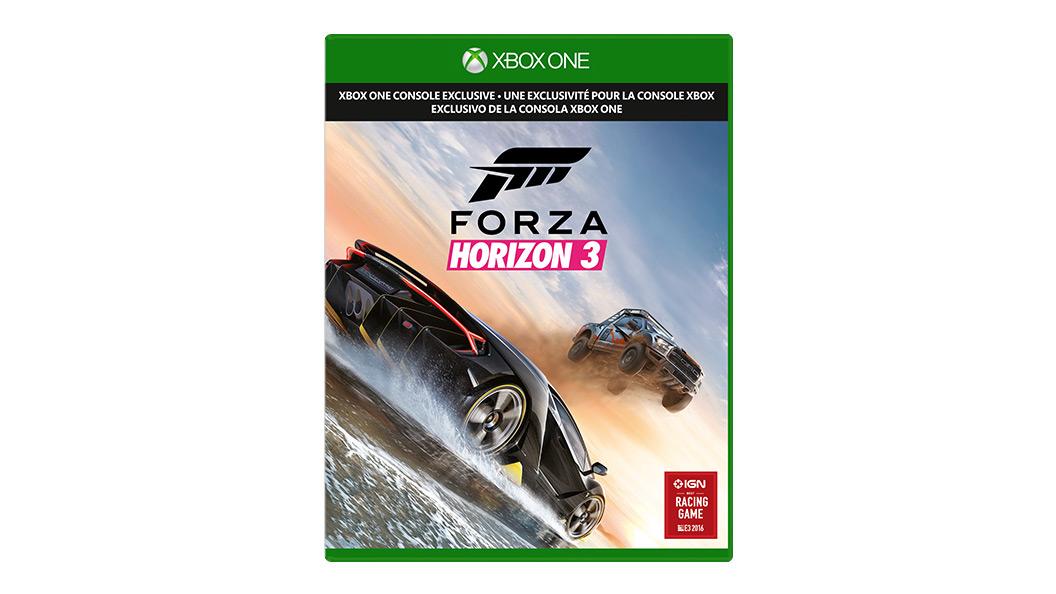 Forza Horizon 3 dobozának képe