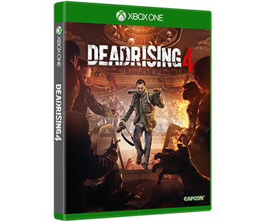 DEAD RISING 4 STANDARD EDITION BOX ART
