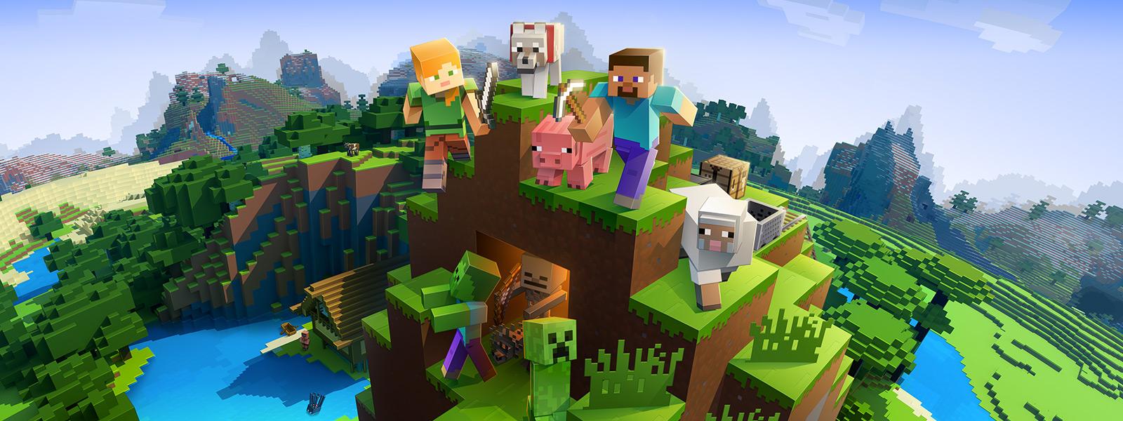 Minecraft-seikkailuja