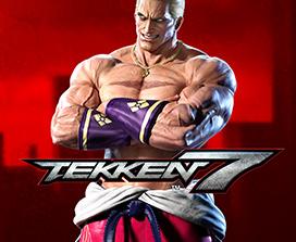 Tekken 7, Geese Howard set forfra med korslagte arme