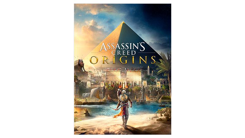 Assassin's Creed® Origins Standard Edition -pakkauksen kansi