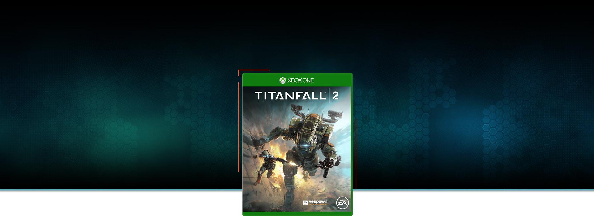 Imagem da caixa do Titanfall 2