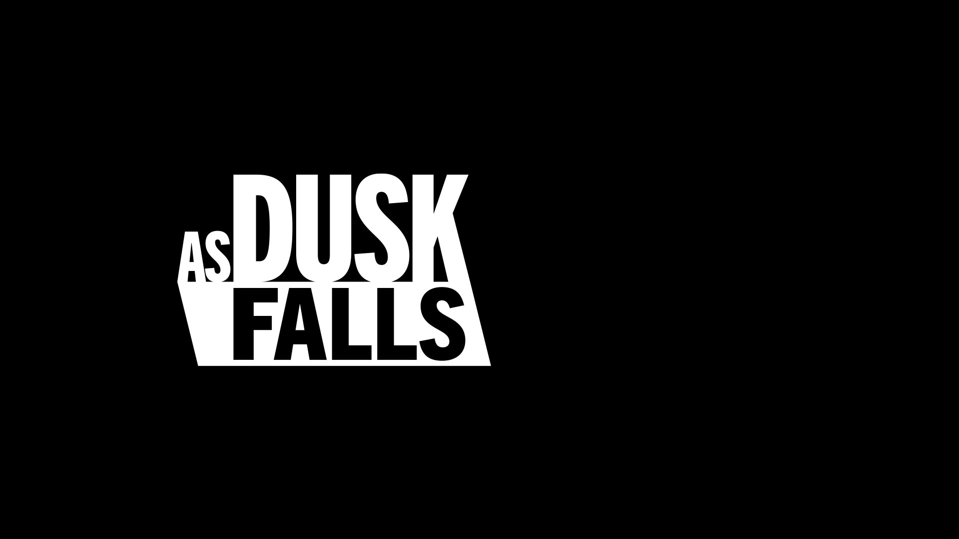 As Dusk Falls logo