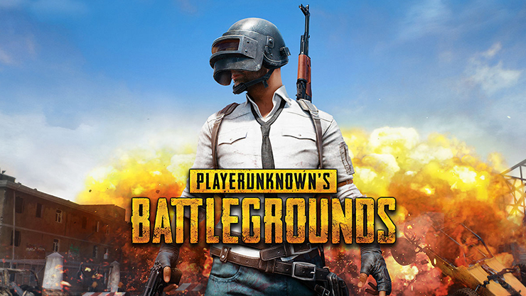 PLAYERUNKNOWN'S BATTLEGROUNDS man with fire behind him