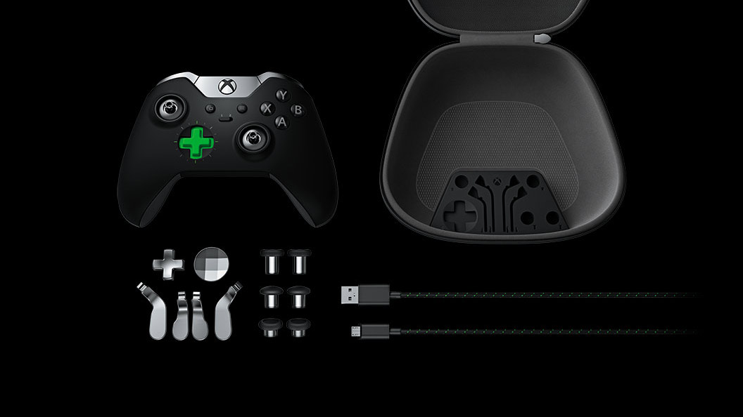 Elite Wireless Controller – Case-Inhalt