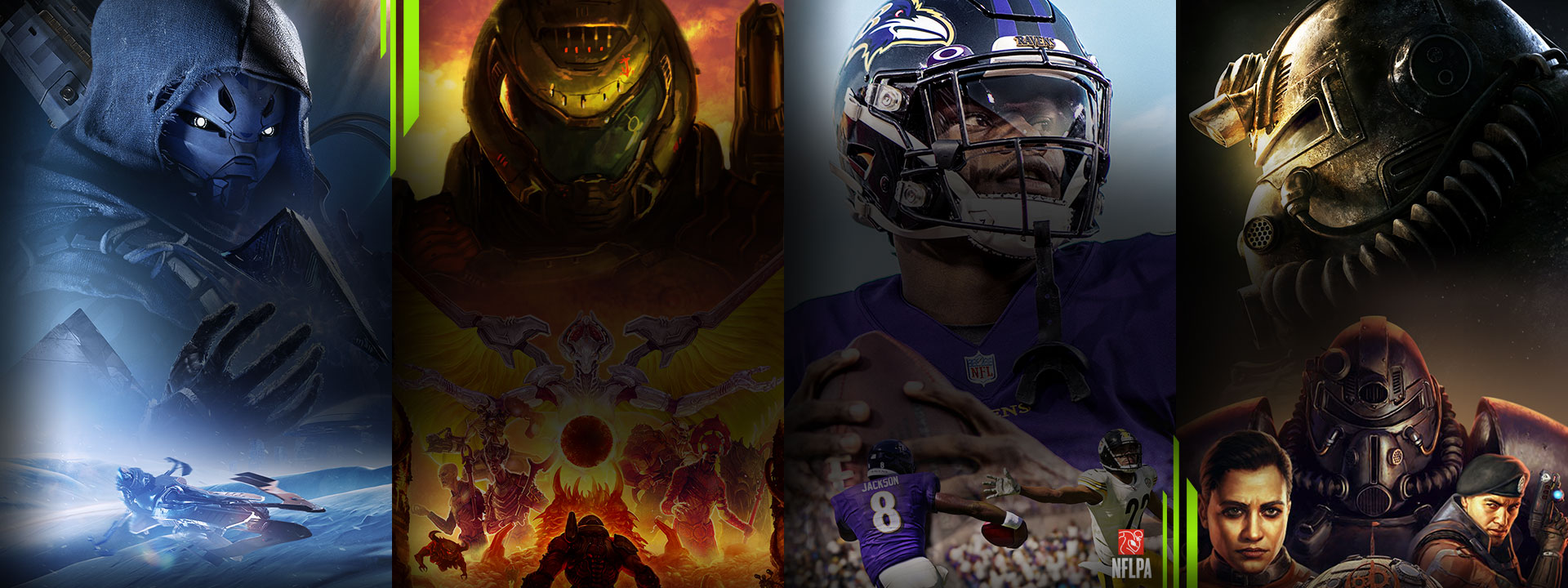 『Destiny 2』、『Doom Eternal』、『Madden NFL 21』、『Fallout 76』などのゲームが、Xbox Game Pass でプレイできます。