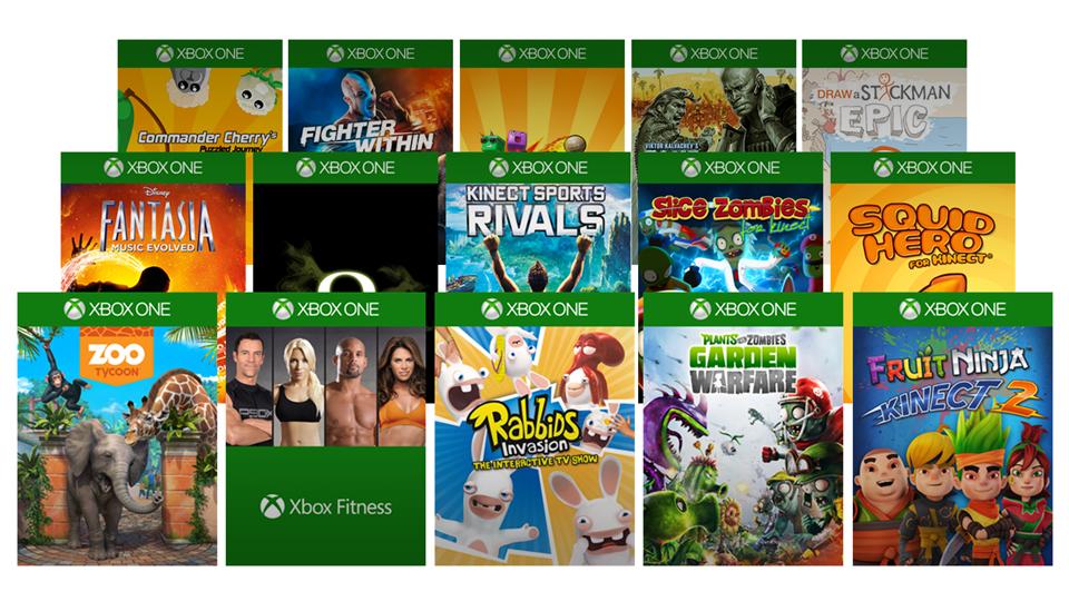 Xbox One 游戏库
