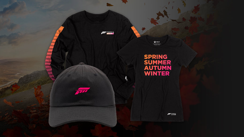 Image of Forza Merchandise and gear