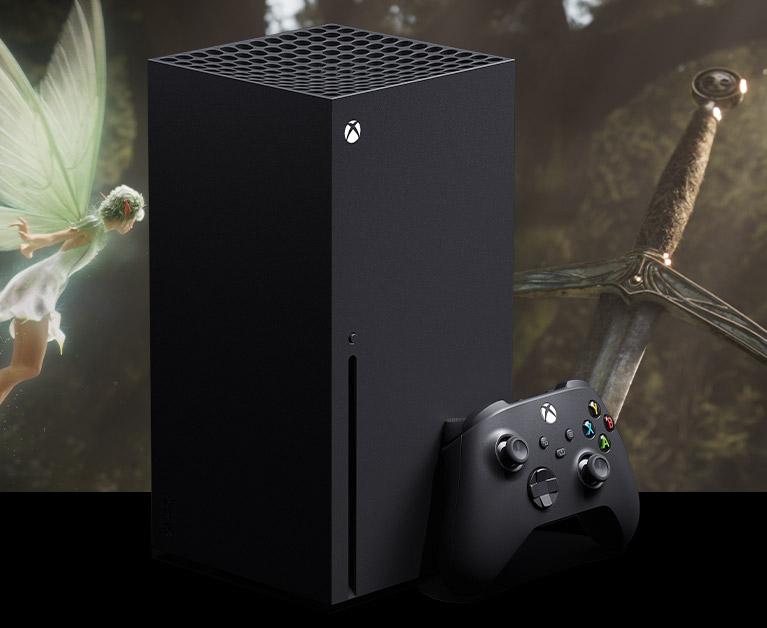 Consola Xbox SeriesX y mando