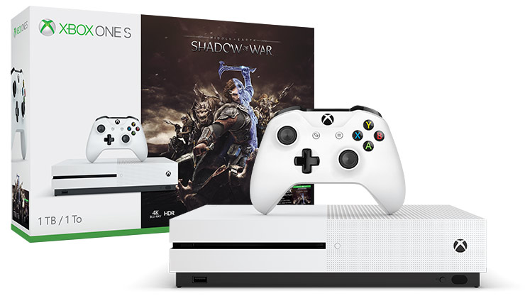 Xbox One S Shadow of War (1TB)