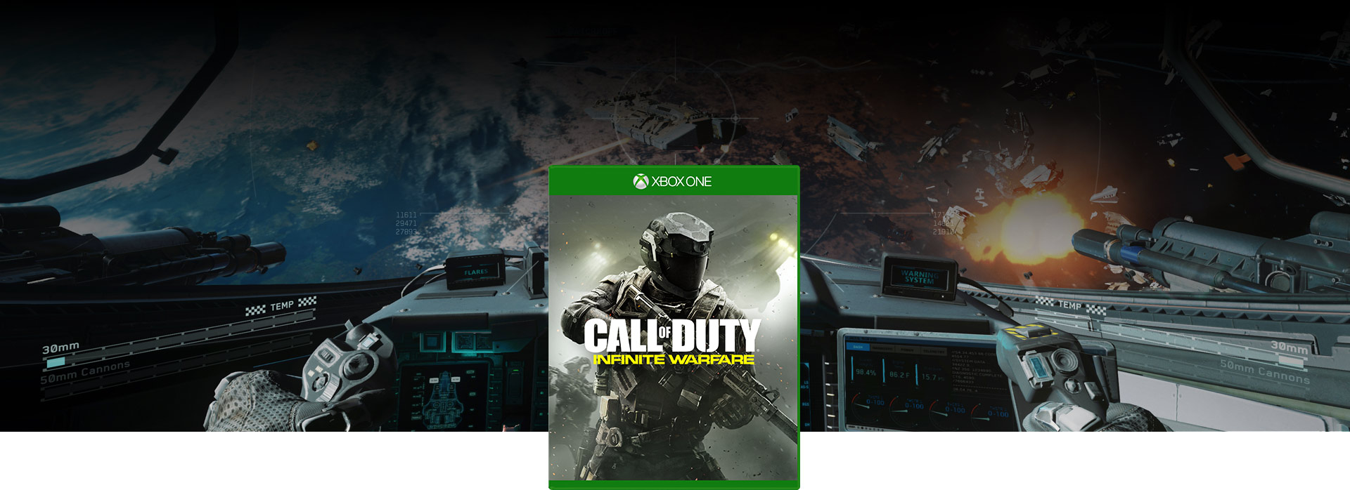 Caixa Call of Duty Infinite Warfare