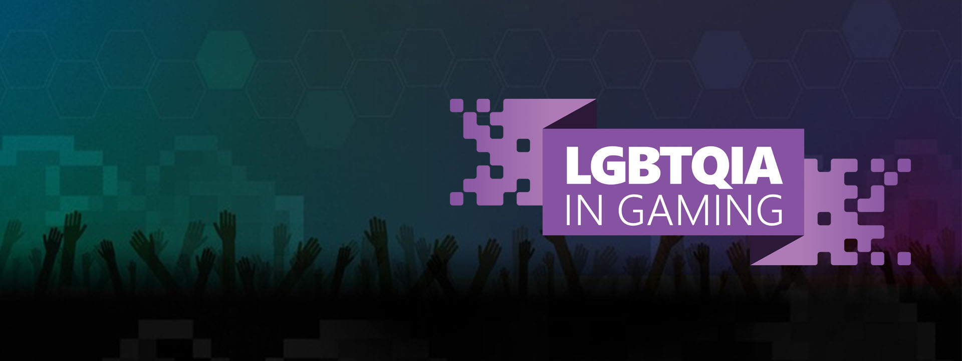 L G B T Q I A in Gaming Event Logo