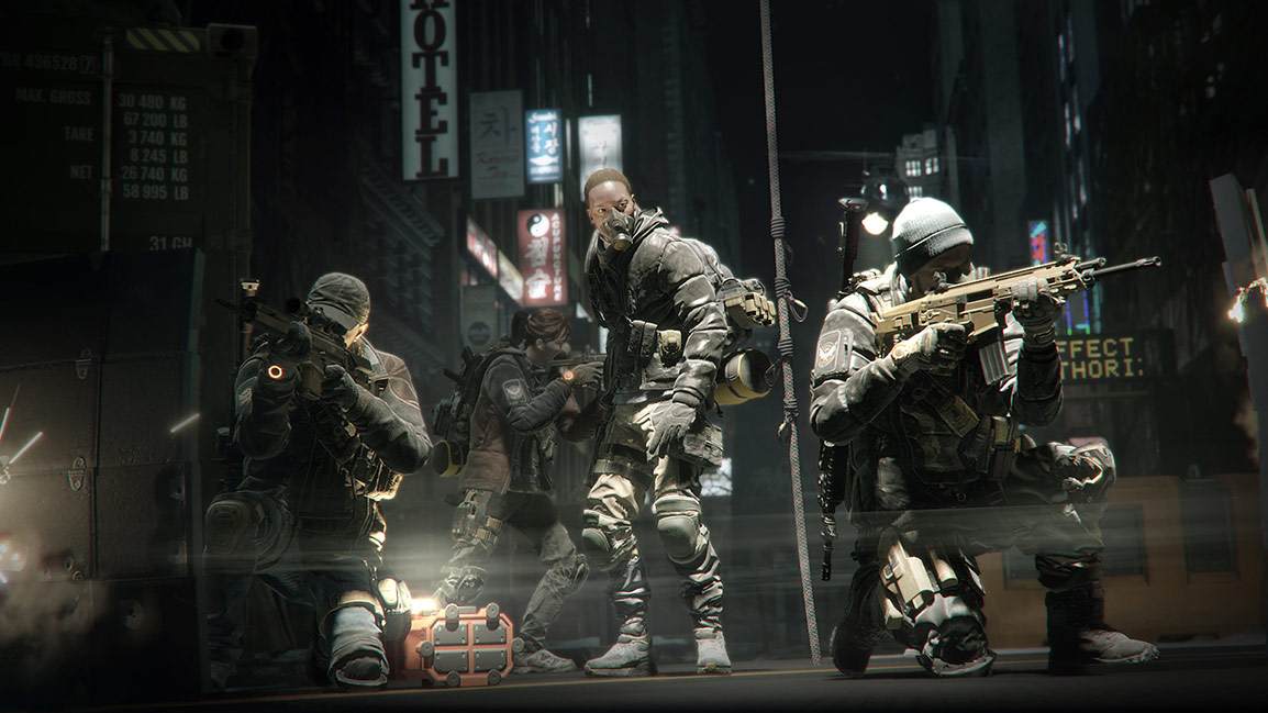 Tom Clancy's The Division – Teamaufstellung