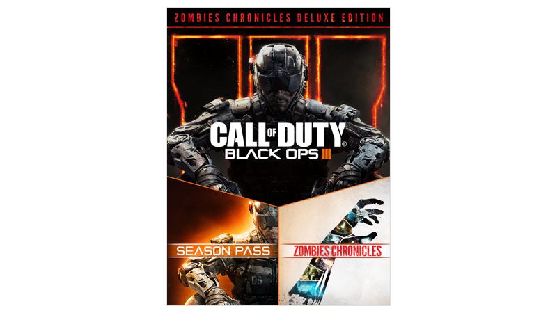 Call of Duty Black Ops 3 zombies chronicles Deluxe edition boxshot