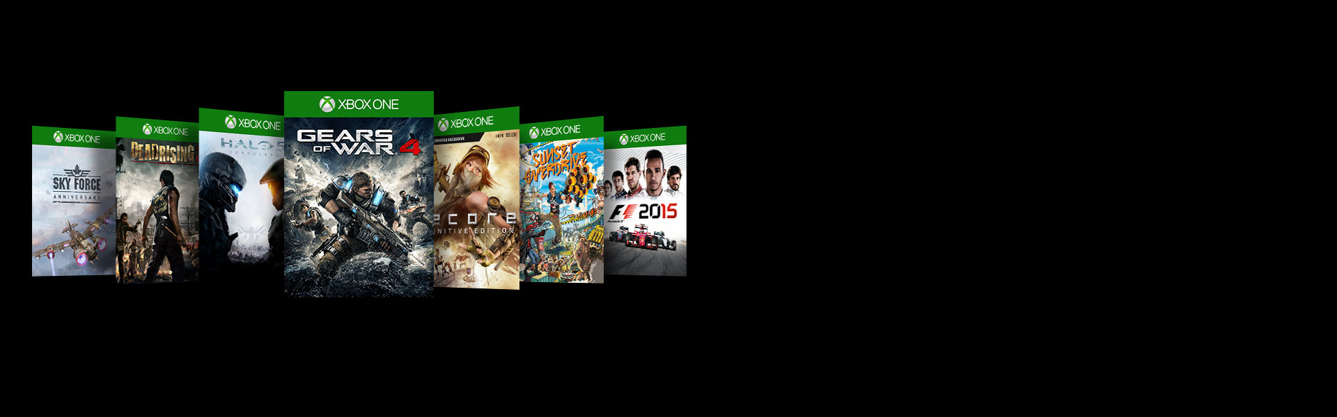 Collage of 7 popular Xbox games