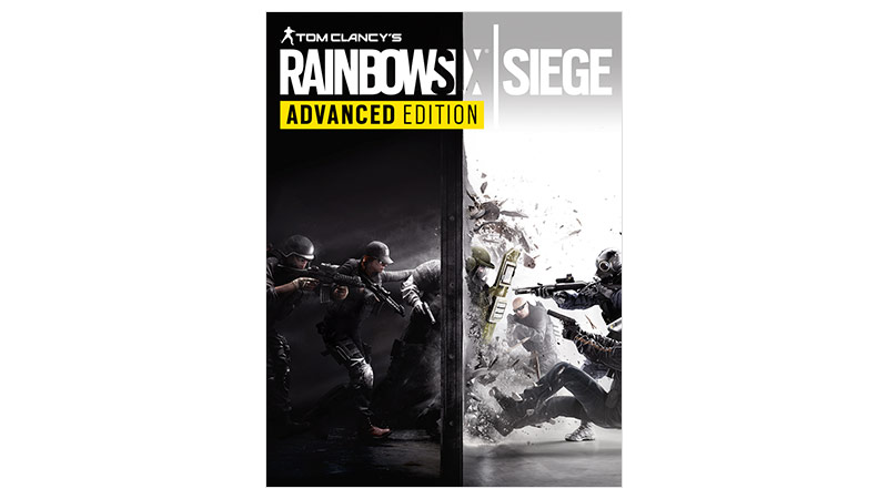 Rainbow Six Siege advanced edition, bild på förpackning