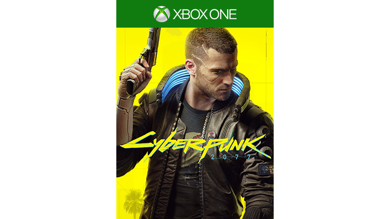 Cyberpunk 2077 game box shot
