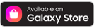 Available on Galaxy Store, Samsung galaxy icon