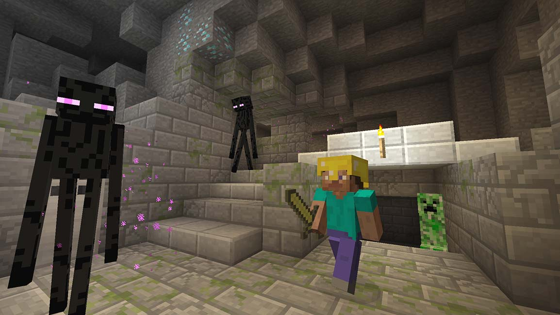 《我的世界》游戏操作画面截图