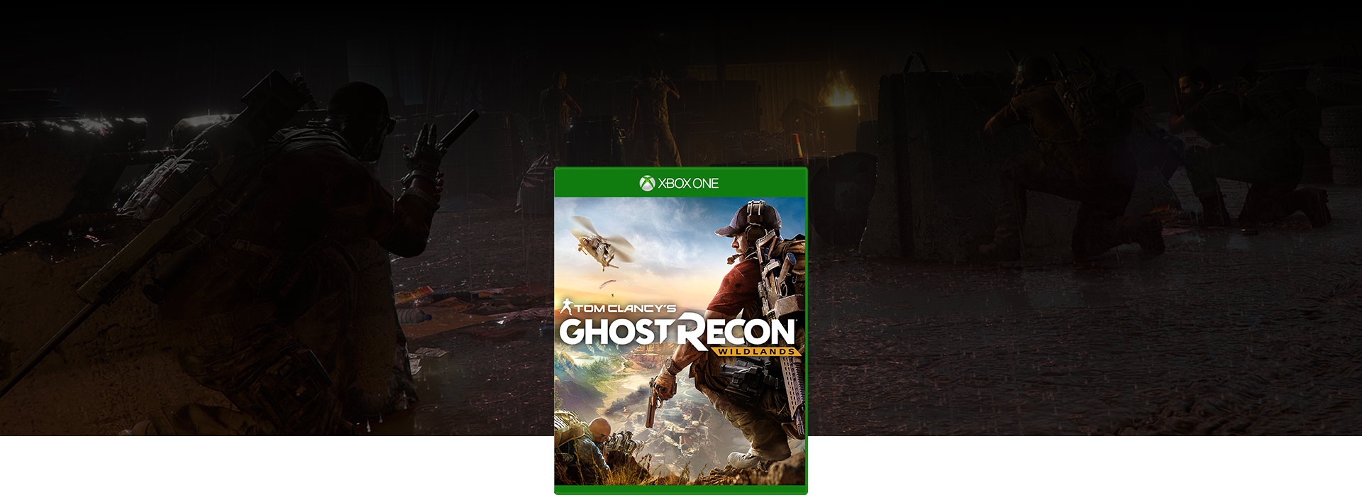 Ghost Recon Wildlands boxshot