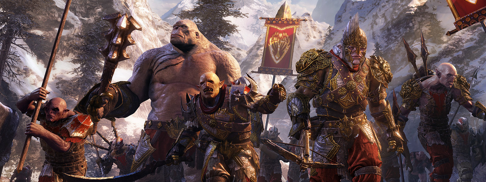 Shadow of War Gang Orcs