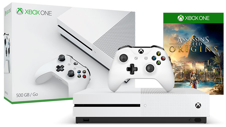 Xbox One S Assassin's Creed Origins Bonus Bundle (1TB)