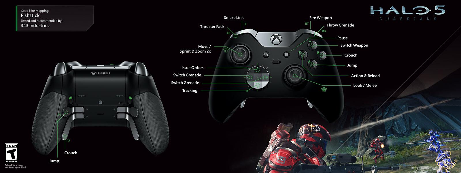 ... Halo 5 – Fishstick Elite Mapping ...