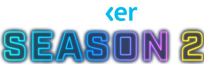 Brightly colored text logo that reads Mixer Season 2