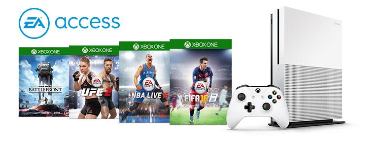 7 gier w zestawie z konsolą Xbox One i abonamentem EA Access