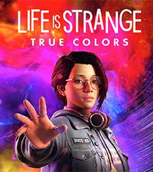Il personaggio di Life Is Strange: True Colors Alex Chen tende la mano davanti a uno sfondo psichedelico