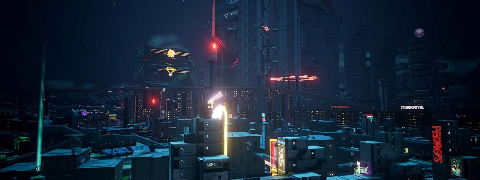 Captura de ecrã do Crackdown 3 sem HDR