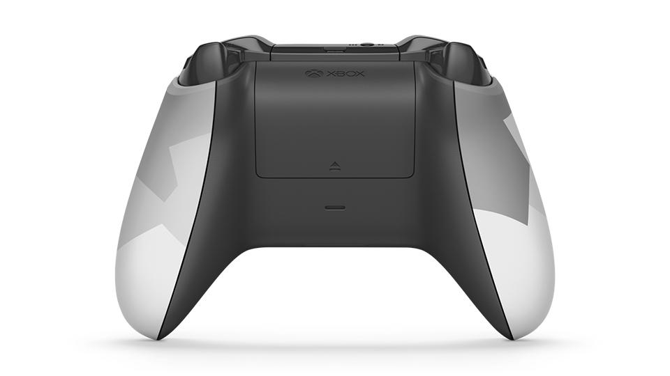 Backside of controller