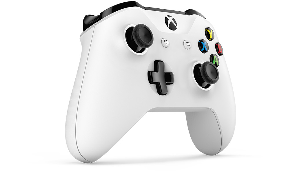 Right angle view of Xbox Wireless Controller