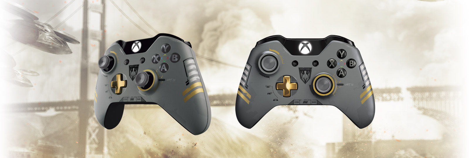 Xbox One Limited Edition Call of Duty: Advanced Warfare Wireless Controller.