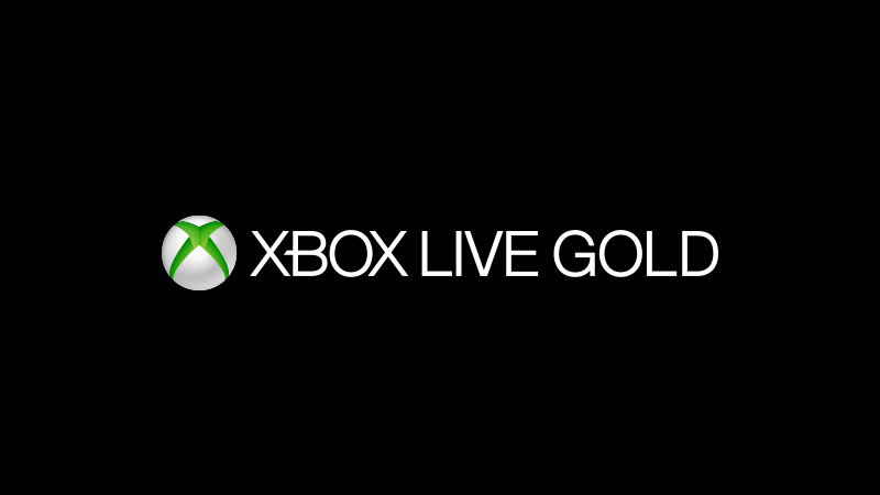 An image of Xbox Live Gold on a black background