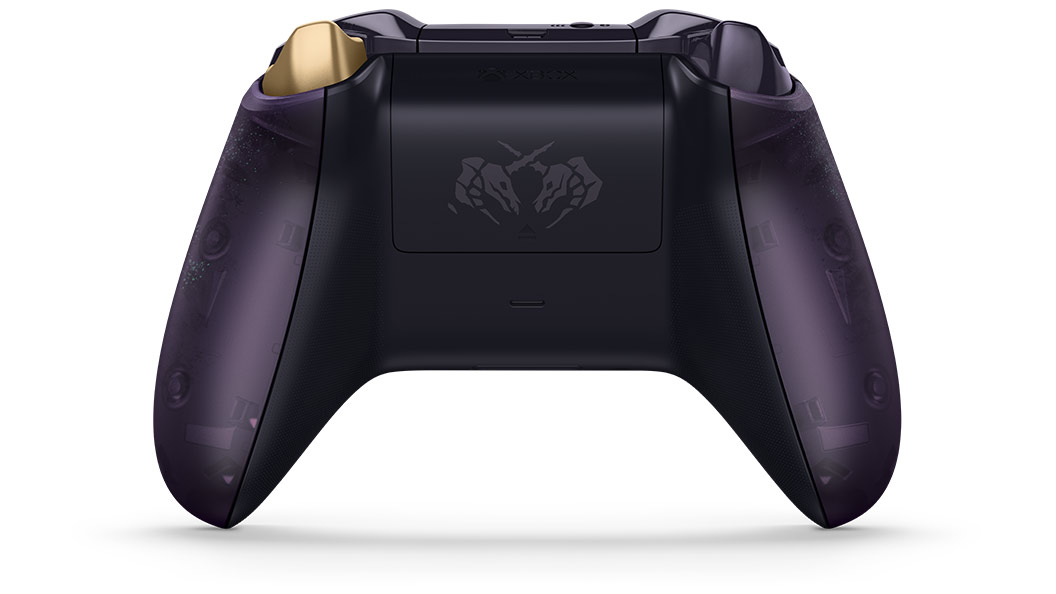 Back of Sea of Thieves Controller