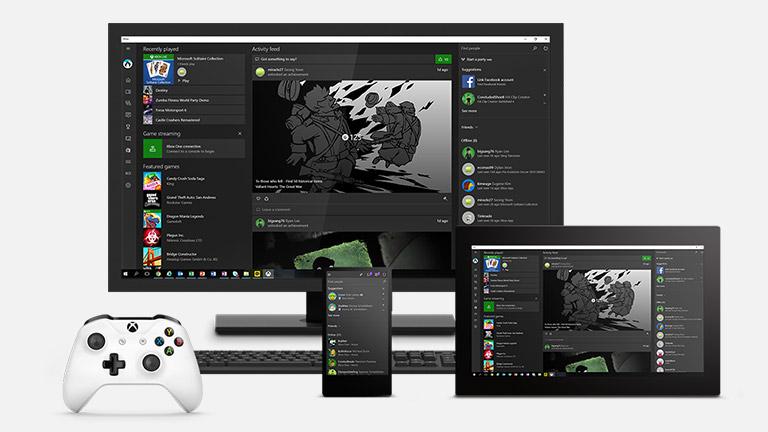 Windows 10 Gaming Xbox App on Windows 10 Windows 10 Accessories