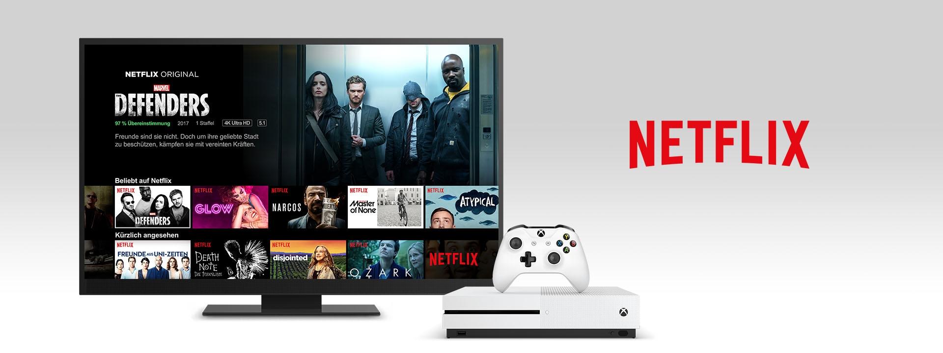Netflix auf einer XboxOne