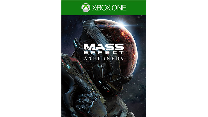 Mass Effect Andromeda Standard Edition-coverbillede