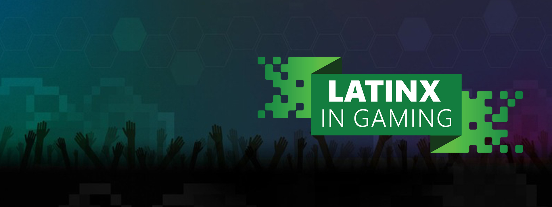 Latinx in Gaming Event Logo