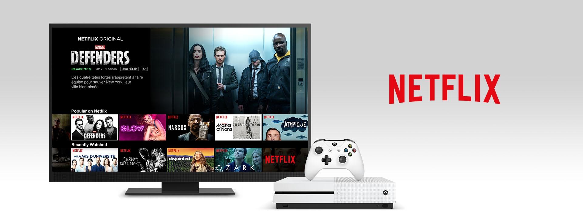 Netflix sur une Xbox One