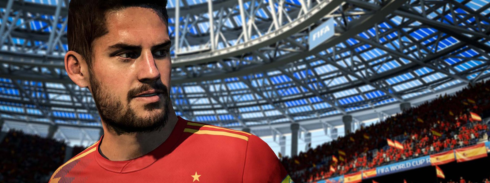 "Close-up van Spanje's Francisco ""Isco"" Suárez"