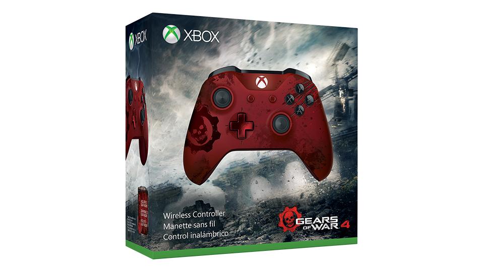 Crimson Omen 控制器的包装盒