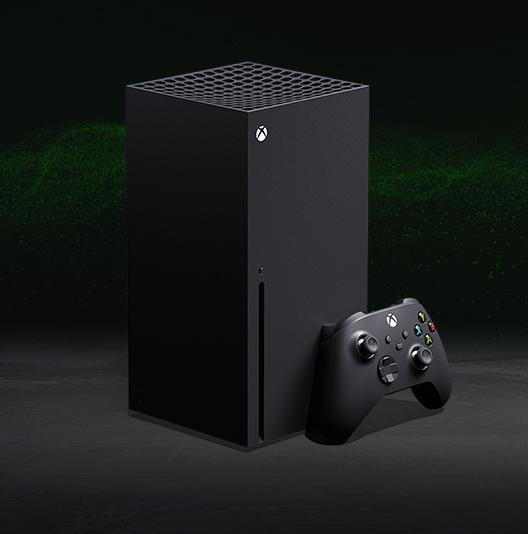 An Xbox Series X.