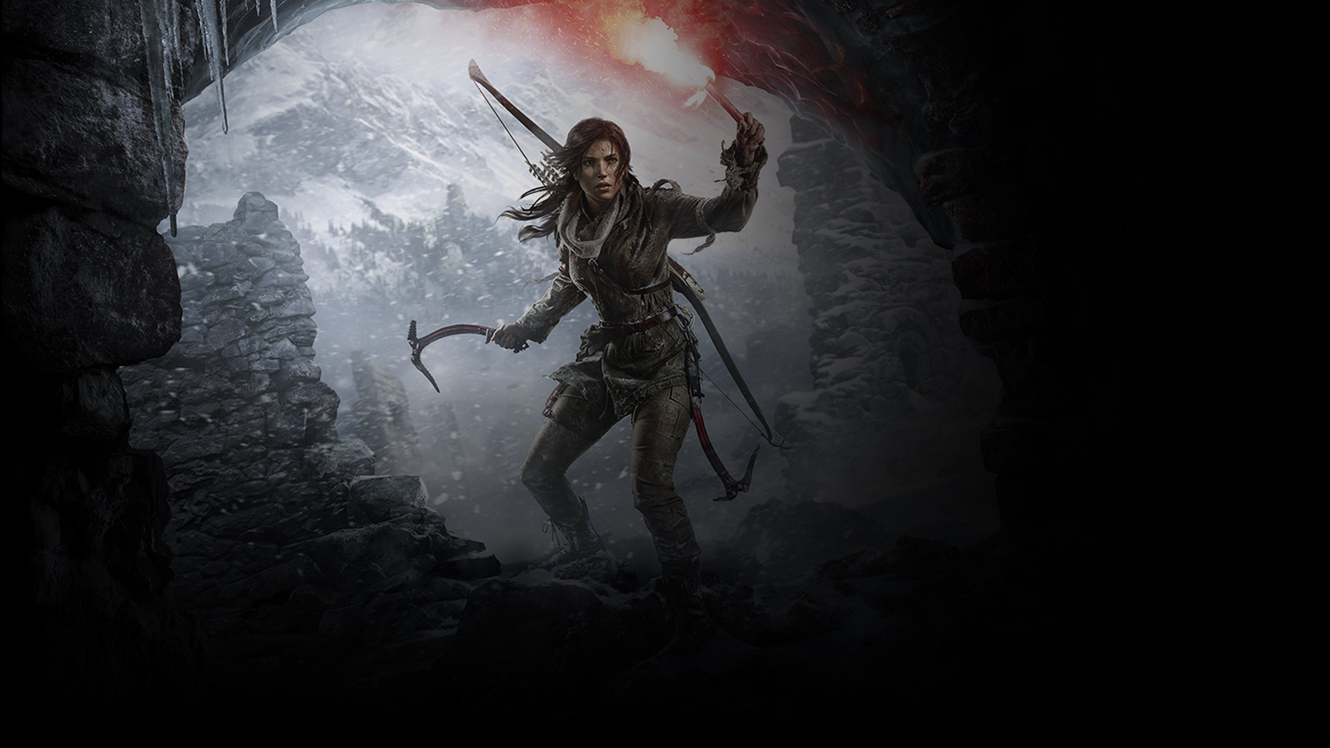 Image of Laura Croft character, from Shadow of the Tomb Raider