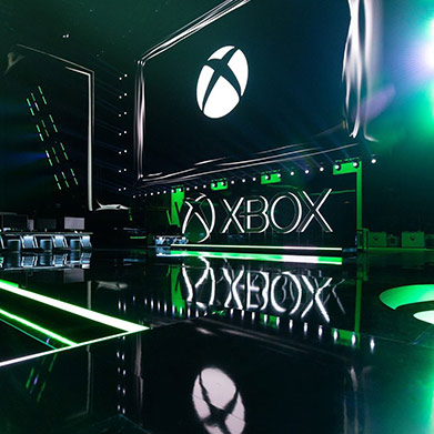 Xbox E3 stage at Microsoft Theater