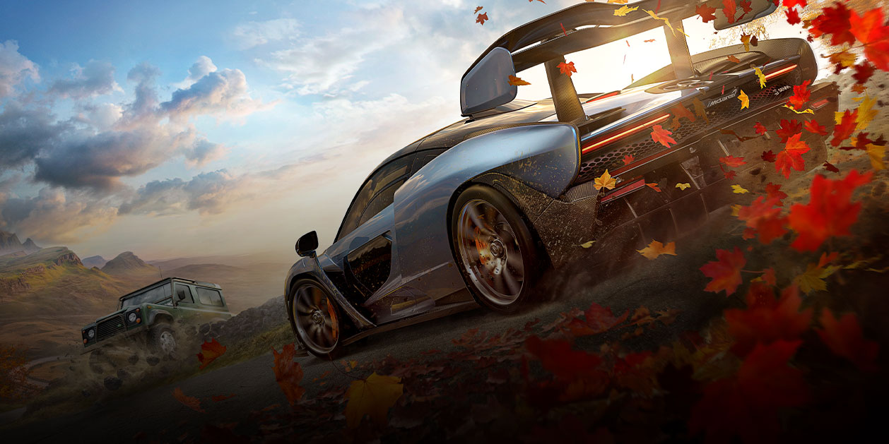 Game Art von Forza Horizon 4