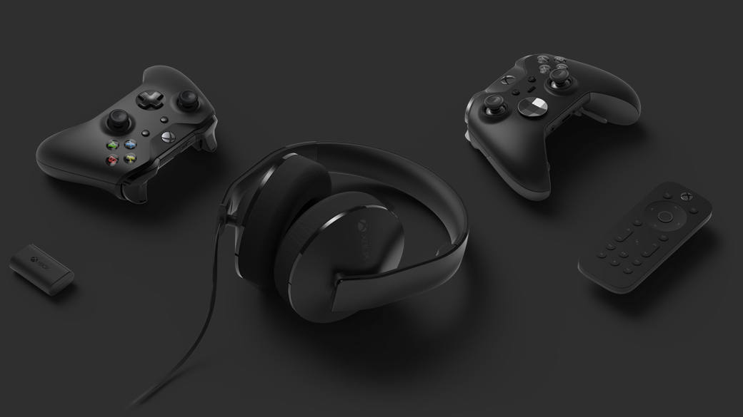 Xbox One accessories work with Xbox One X