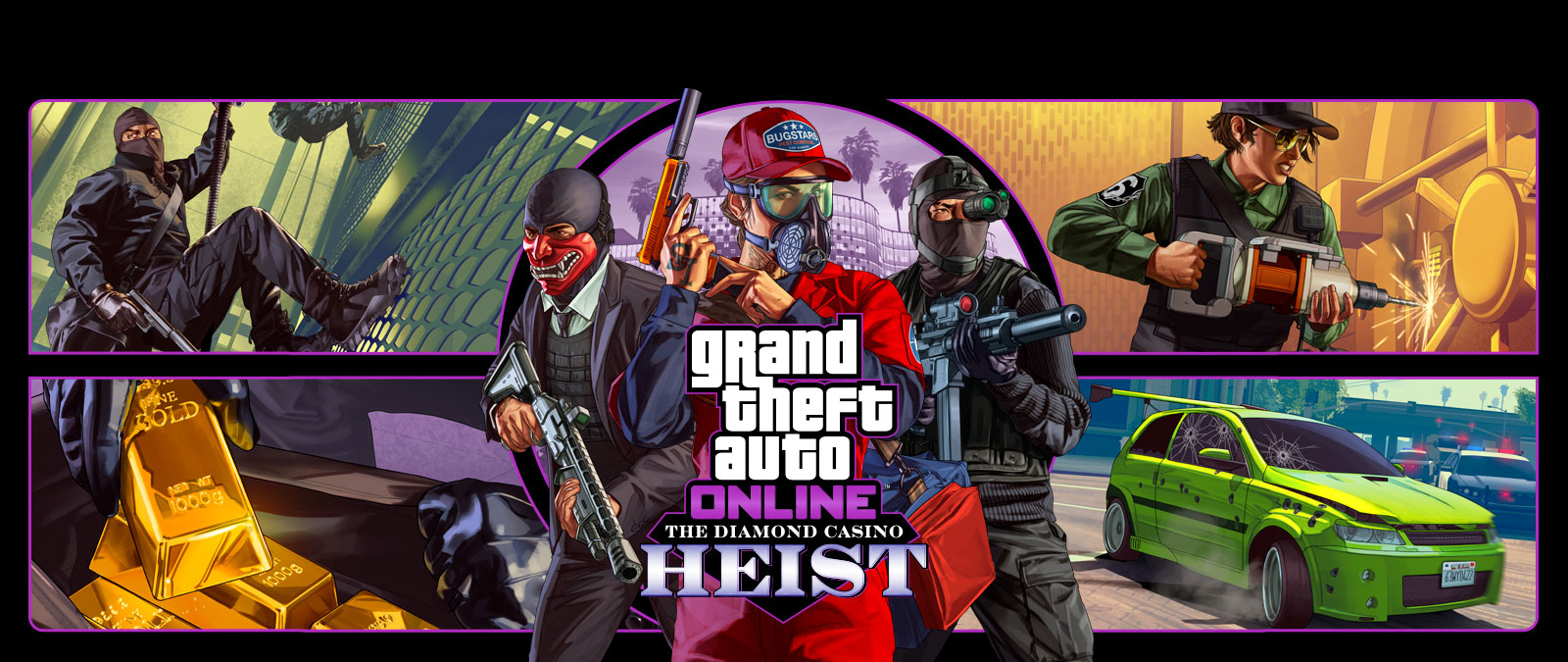 Grand Theft Auto Online, Golpe al casino The Diamond