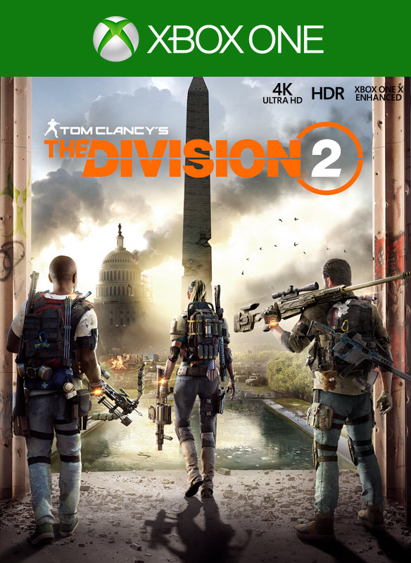 Tom Clancy's The Division 2 包裝圖